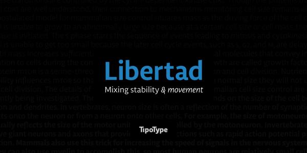 Libertad – Tipotype