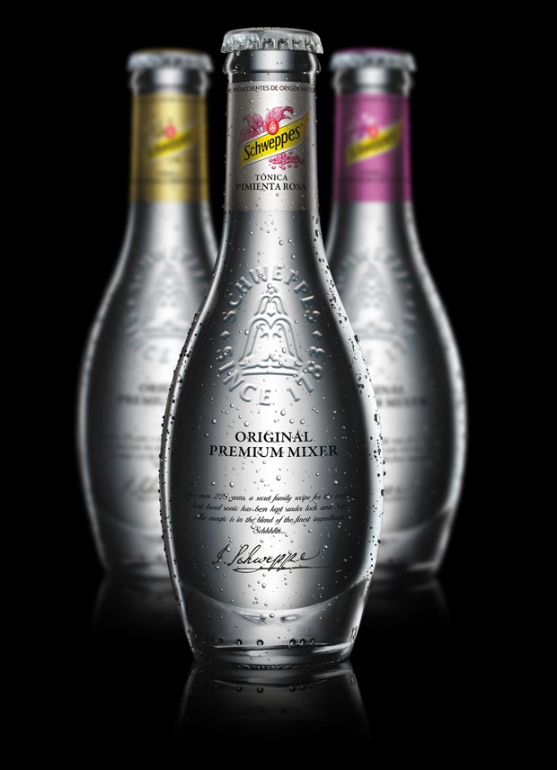 Packaging Schweppes – Premium Mixer