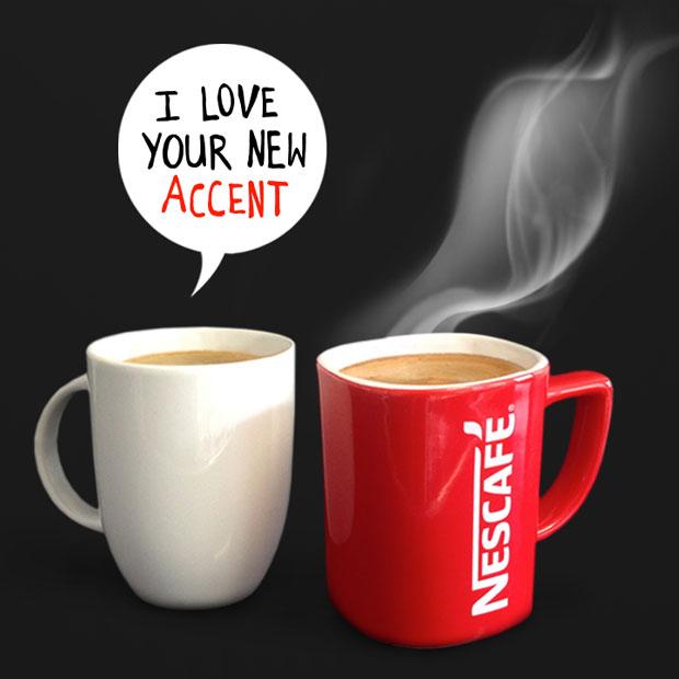Nescafé – nuevo acento marca