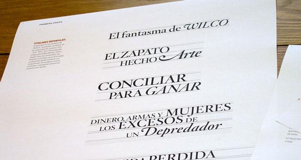 Oscar Mariné – diseño de titulares para EPS