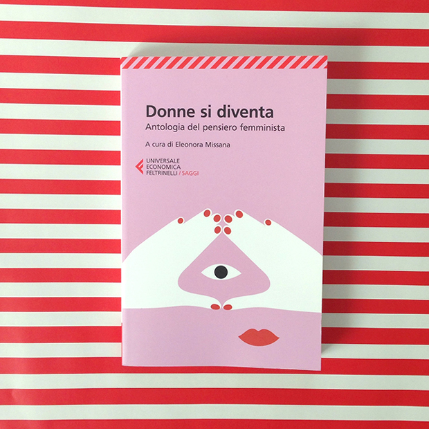 Olimpia Zagnoli – ilustración portada donne si diventa