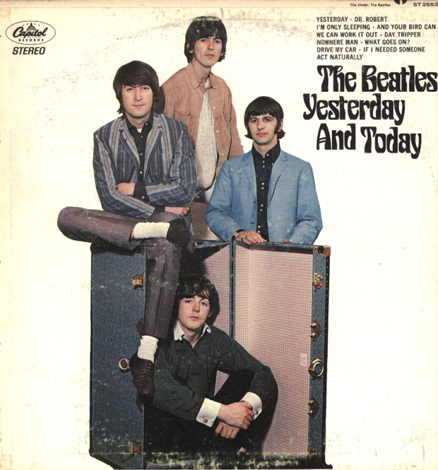 The Beatles _ Yesterday and Today (1966) cover / 2ª portada