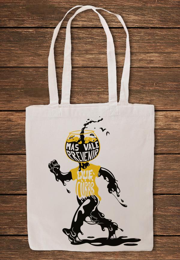 bolsa - Crowdfunding de diseño solidario: Siete sobre el limpio mar