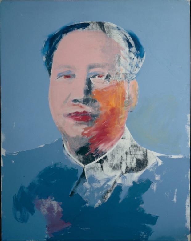 Andy Warhol, Mao (1972) Mitos del pop
