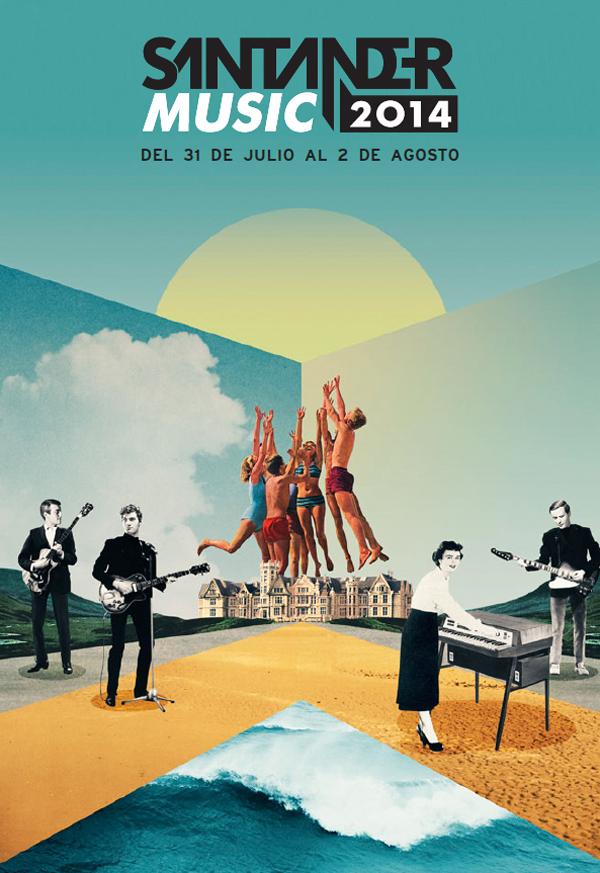 Santander Music 2014 – cartel de Julien Pacaud