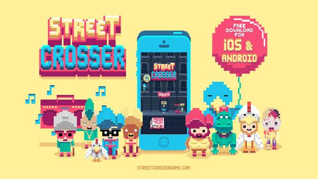 Street Crosser para los jugones más nostálgicos