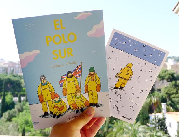 Alexis Nolla dibuja la belleza de la derrota en El Polo Sur