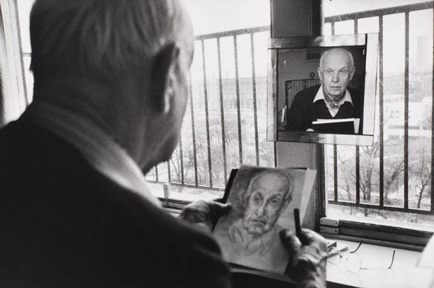 Henri Cartier-Bresson – autorretrato
