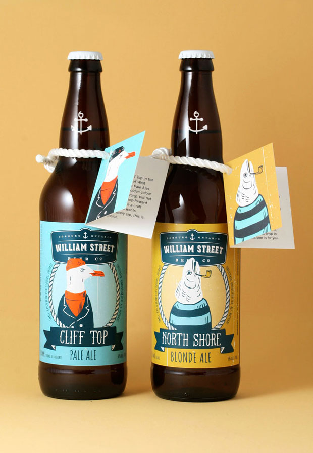 diseño packaging cerveza artesanal William Street Beer Co.