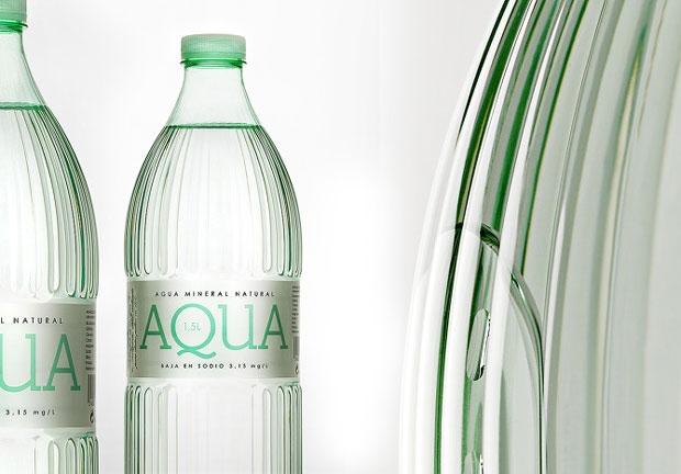 AQUA agua mineral Supermercados Aldi – packaging