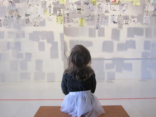 Carla Torres – exposición Napkin Project en Quito