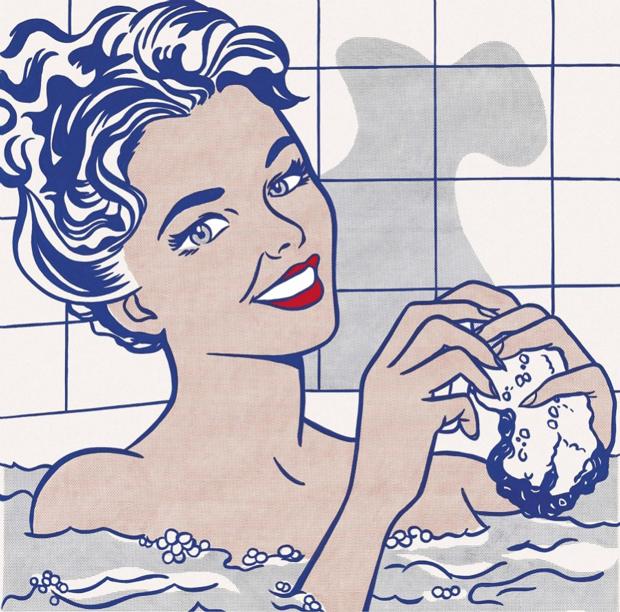 Mitos del Pop – Roy Lichtenstein – Mujer en el baño, 1963