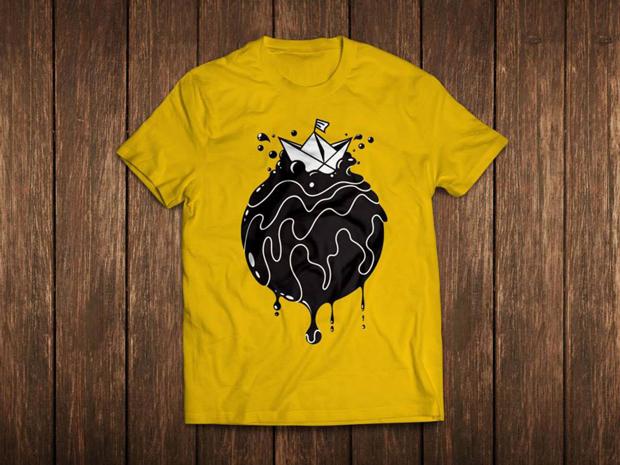 camiseta Sr. Waldemar – Crowdfunding de diseño solidario: Siete sobre el limpio mar