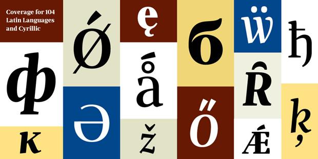 Nueva tipografía de Josep Patau