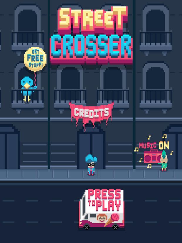 Street Crosser – un juego para los jugones más nostálgicos
