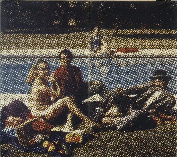 Alain Jacquet, Almuerzo campestre, 1964