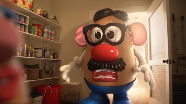 Mr. Potato se canibaliza por una Lays