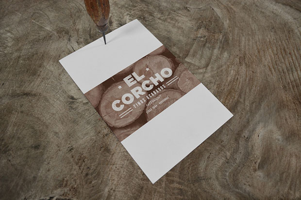 Mock-up – papelería corporativa handmade