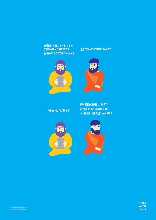 Comic-Sans se une a la lucha contra el cáncer