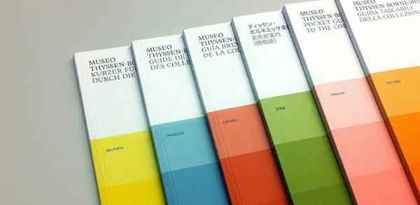 Diseño editorial para Museo Thyssen-Bornemisza