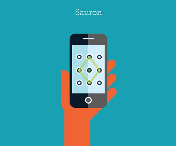Ilustración de personajes famosos: Sauron