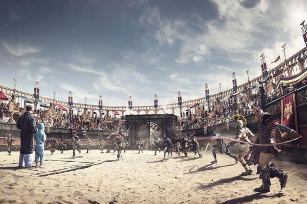 Imagen para la campaña de publicidad de Samsung