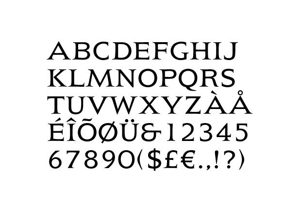 Tipografía President de A. Frutiger