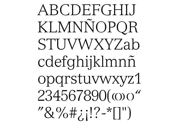tipografías de Adrian Frutiger, Versailles