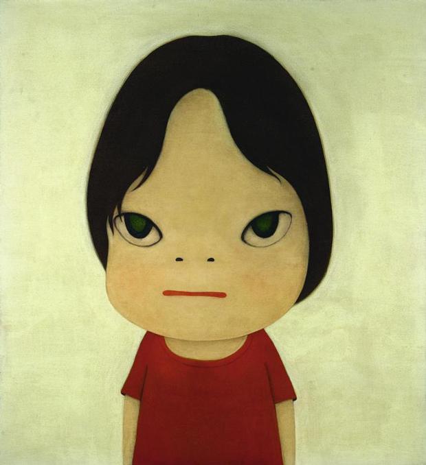 Los dibujos de Yoshitomo Nara se mueven entre lo naïf y lo bizarro