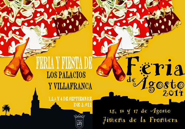 CoCos: El cartel de la Feria de Agosto de Jimena de la Frontera 2014 es un plagio 'deliberado'