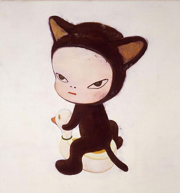 Yoshitomo Nara – draw kitty