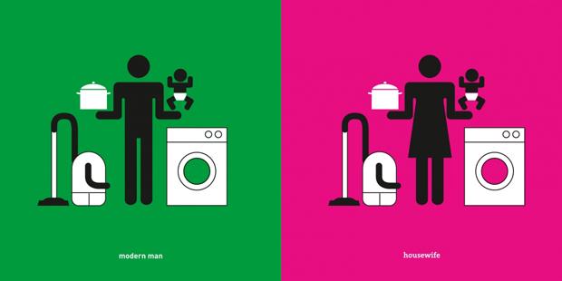 Yang Li y sus provocativos pictogramas sobre la guerra de sexos