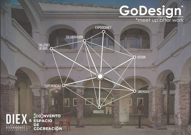 GoDesign, meet up after work – primer encuentro para profesionales del diseño en Extremadura