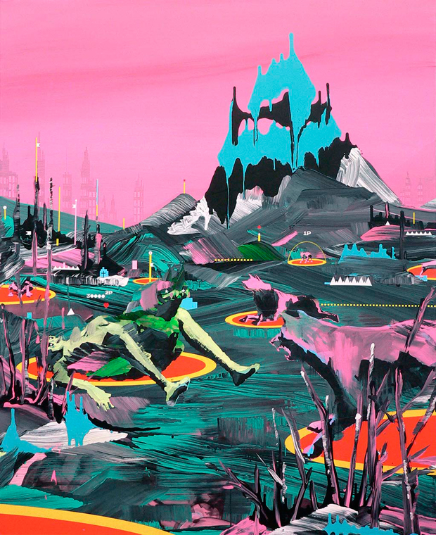 Nelo Vinuesa – Relax – exposición Castlehead en Espai Tactel
