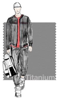 Titanium color – Pantone spring 2015