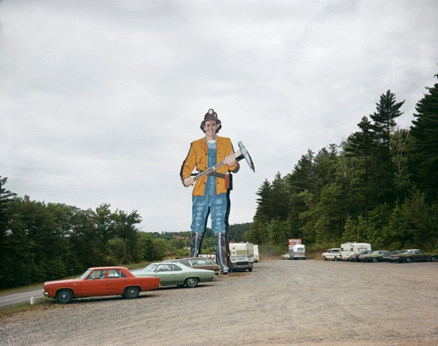Shore Stephen – Iron Mountain Iron Mine Vulcan Michigan July-9-1973