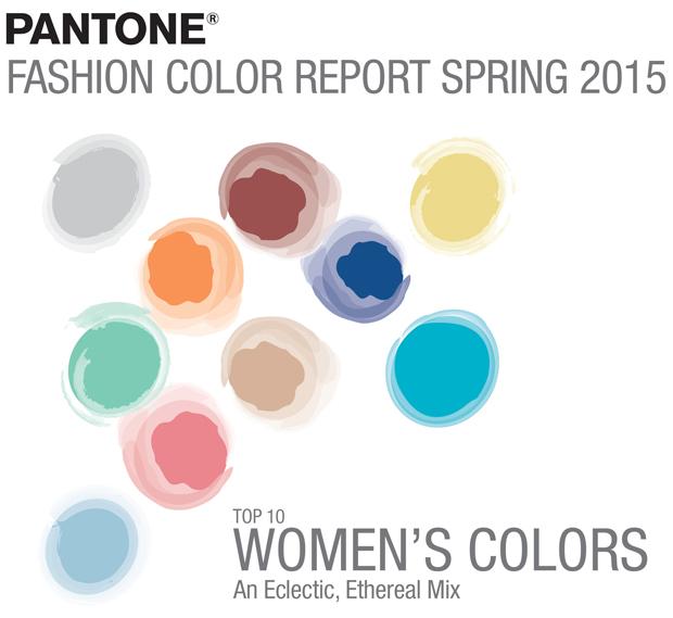 Top 10 colores Pantone para la primavera de 2015 _ paleta femenina