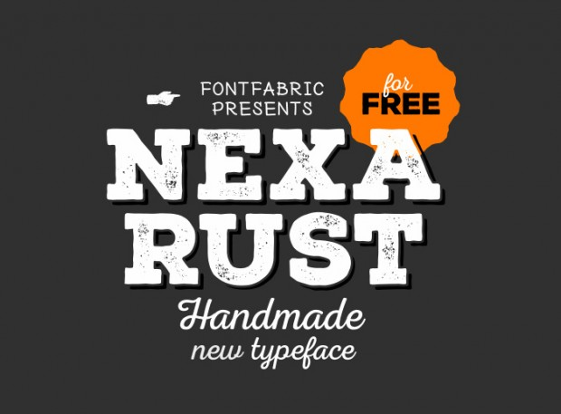 Nexa Rust – tipografía gratuita de Fontfabric