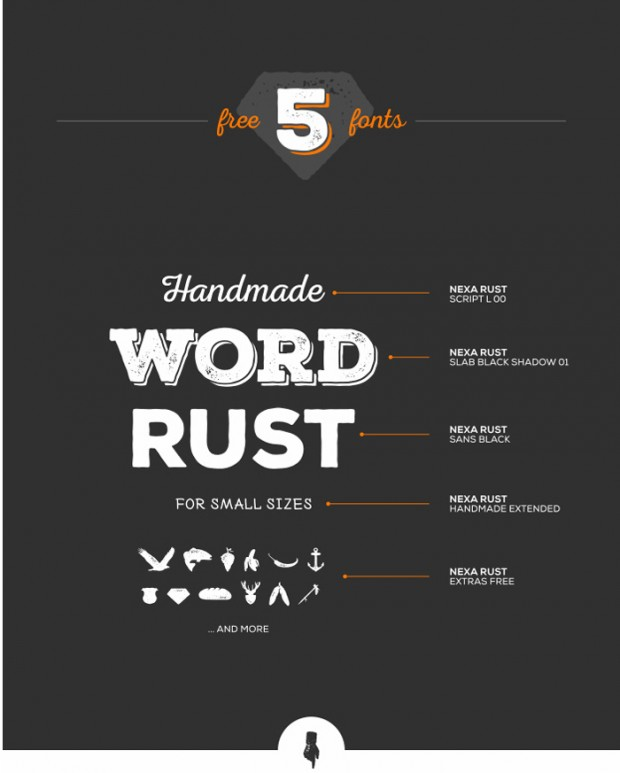 Nexa Rust – free fonts