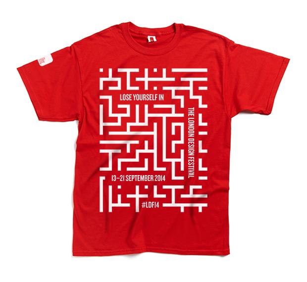 Camiseta London Design Festival