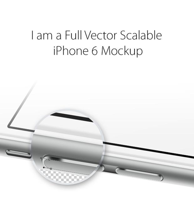 iPhone 6 Free PSD mockup gratuito