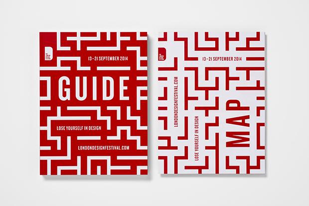 Domenic Lippa – Pentagram viste de rojo el London Design Festival 2014