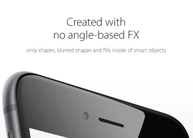 iPhone 6 Free PSD mockup