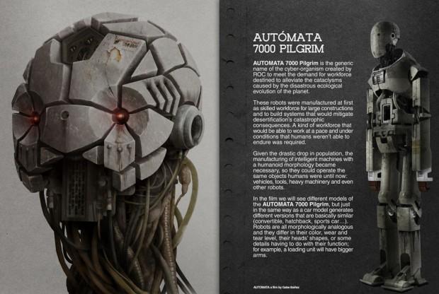 Autómata – dossier de la película producida por Antonio Banderas y dirigida por Gabe Ibáñez