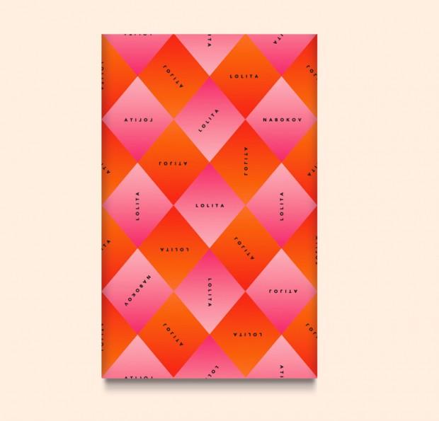 diseño de portada libro Lolita