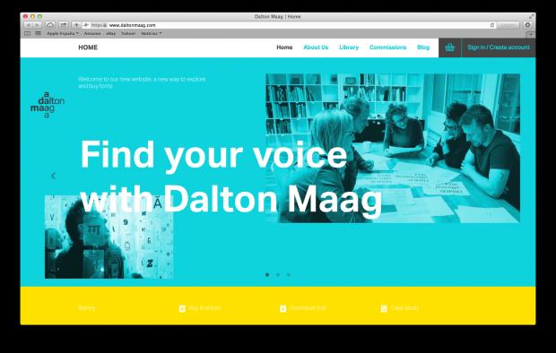 Dalton Maag cambia el modelo de venta y permite la descarga gratuita de sus fuentes