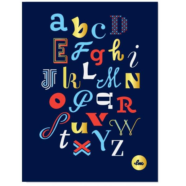 Laura Meseguer – Serigrafías donde la tipo tiene un protagonismo especial