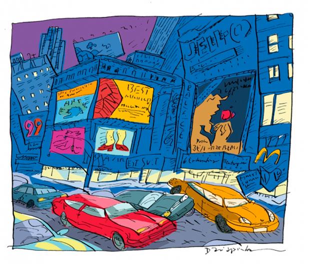 Ilustración Nueva York