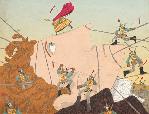 Ilustración Gulliver