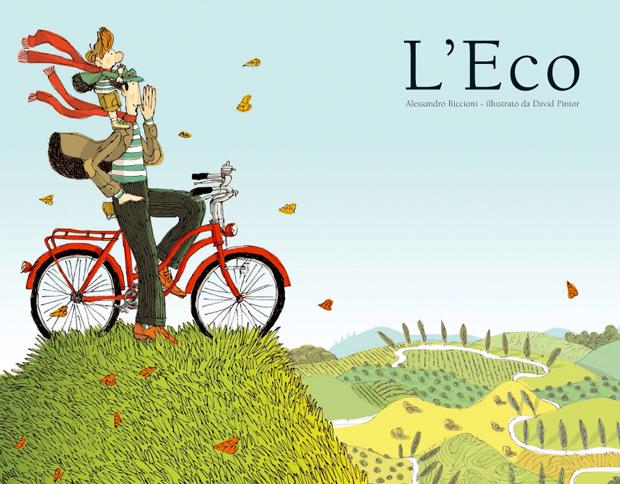 L'eco, ilustración de David Pintor